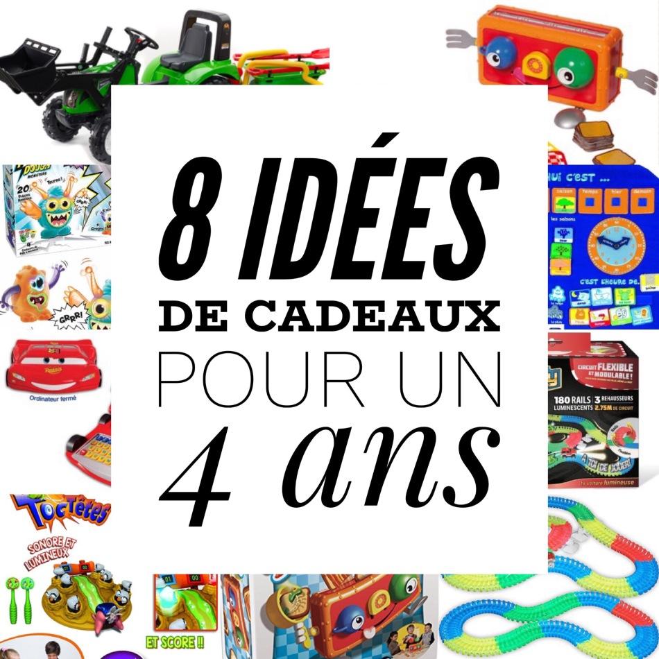 8 idées de cadeaux pour un enfant de 4 ans - Mummy Chamallow